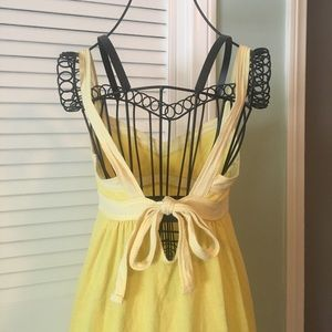 Yellow Beach Cover-up by Victoria's Secret PINK